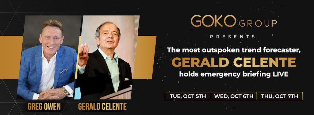 GERALD CELENTE LIVE